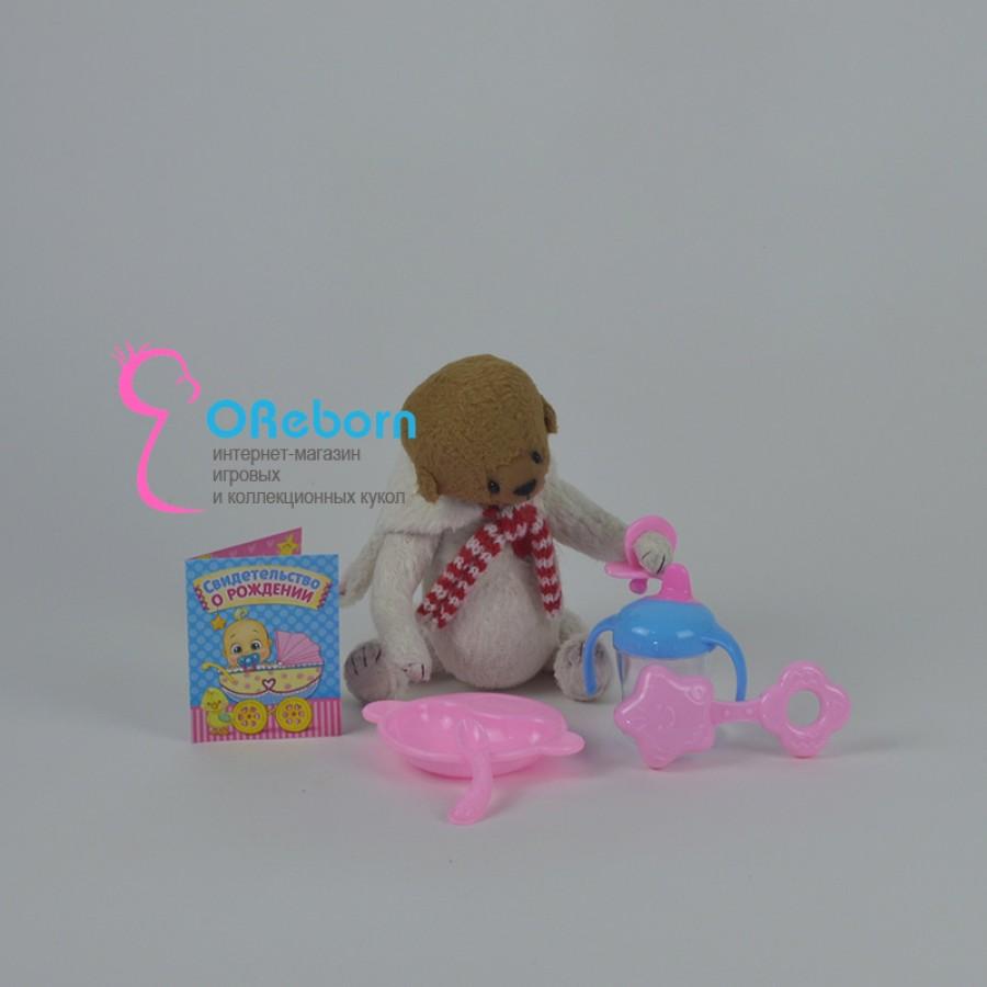 Аксессуары для куклы реборн 6 предметов, свидетельство о рождении