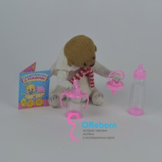 Аксессуары для куклы с свидетельством о рождении 4 предмета