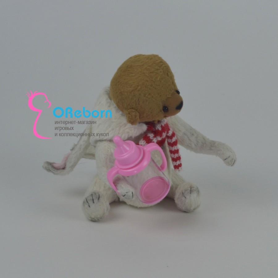 Поильник-бутылочка для  реборн куклы недорого