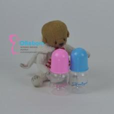 Бутылочка с силиконовой соской для мальчика и девочки