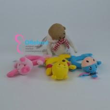 Мягкая игрушка погремушка для куклы