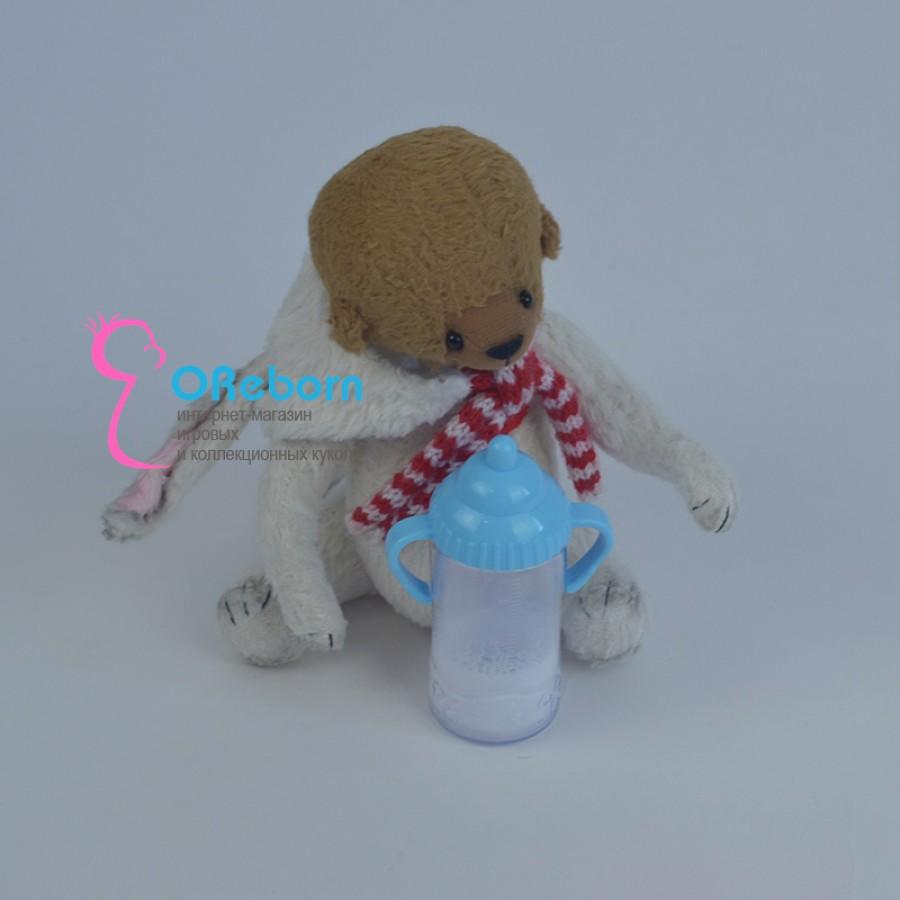 Бутылочка поильник с молочком для куклы реборн