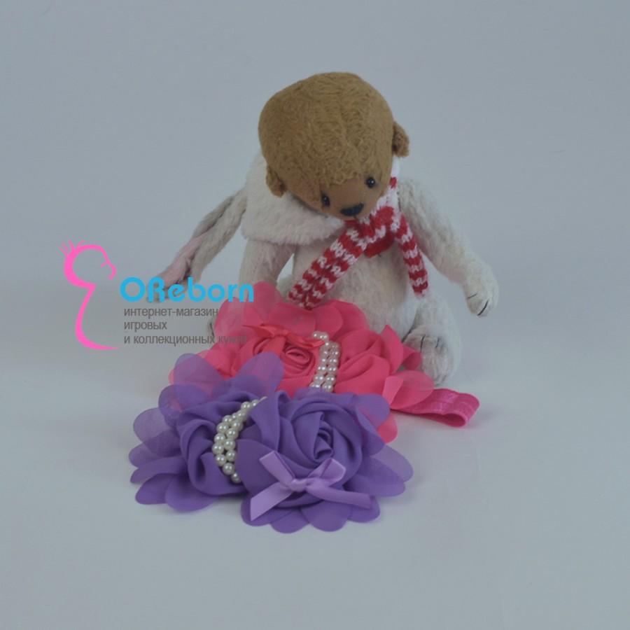 Повязка-ободок Богема для куклы реборн