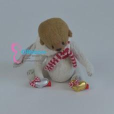 Заколка сердце для куклы