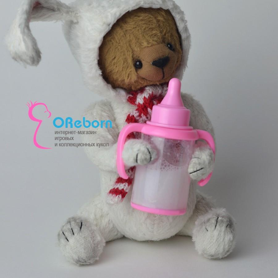 Поильник-бутылочка с молочком для куклы реборн