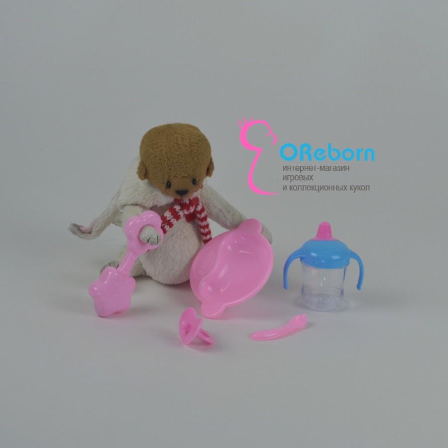Комплект аксессуаров для кормления куклы реборн 5 предметов