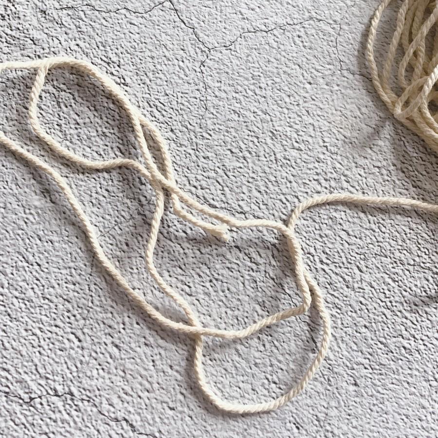 Джутовая веревка, канат для крепления конечностей реборна