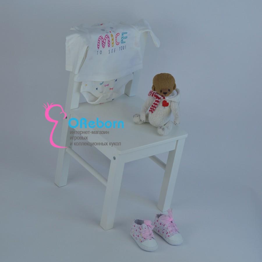 Песочник-платье для новорожденной девочки и куколки реборн