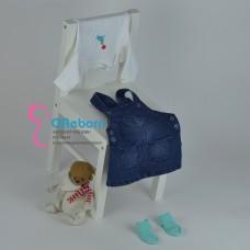 Сарафан для новорожденной малышки с боди