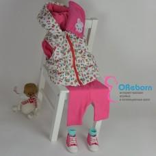 Одежда для новорожденной девочки комплект 8 предметов