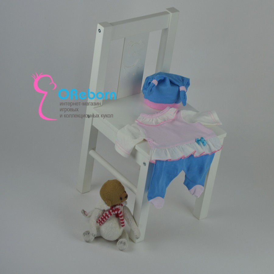 Одежда для куклы нежный зайчик для куклы реборн