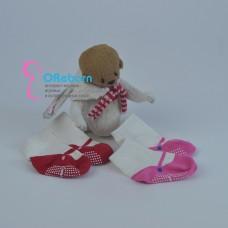 Носочки туфельки для девочки