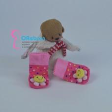 Носочки ромашка