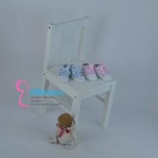 Кроссовки для девочек с лентами