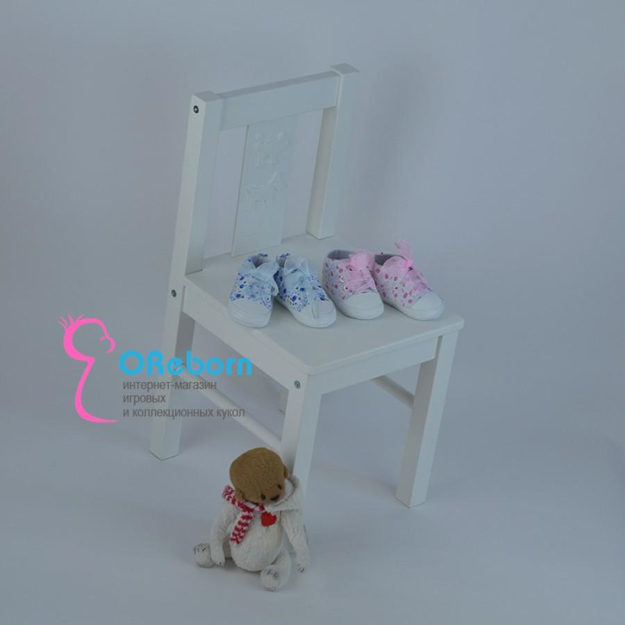 Кроссовки для реборн малышей и новорожденной девочки