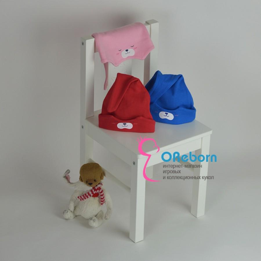 Шапка для новорожденного и  куклы реборн Засыпайка-просыпайка