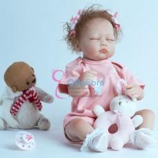 Реборн кукла спящая (арт.015-2)
