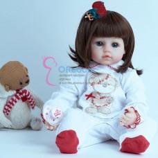 Реборн кукла прическа каре (арт.016-4)
