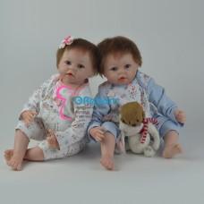 Куклы реборн близнецы (арт.01-2)