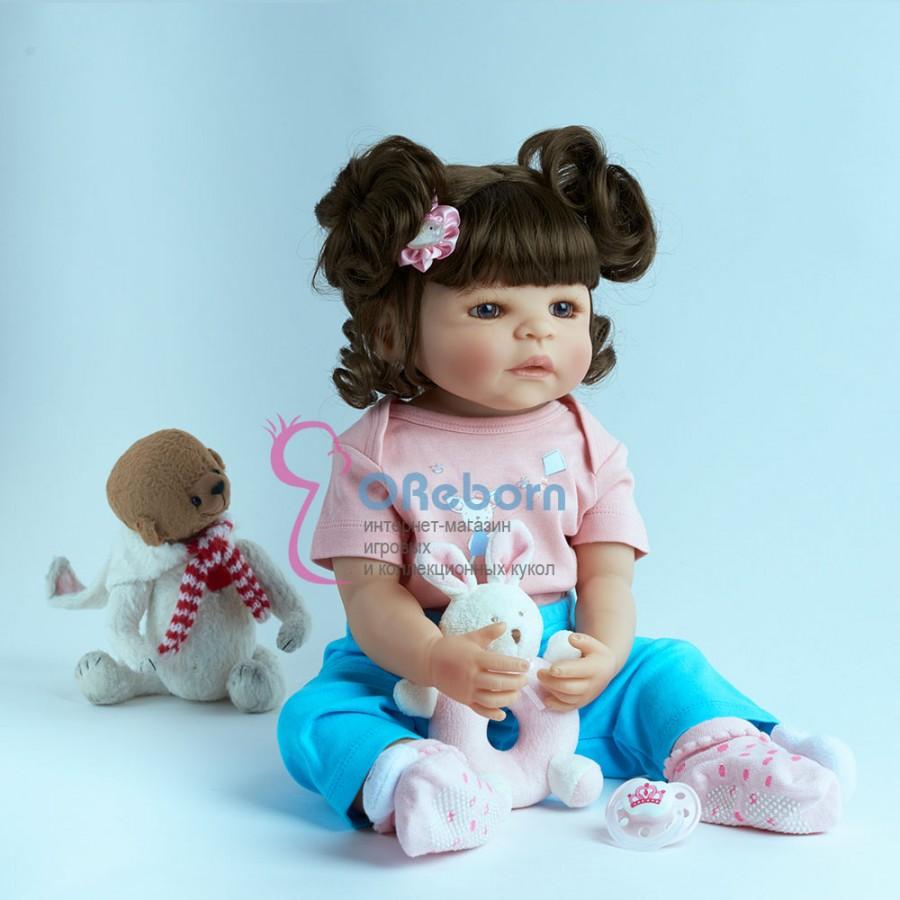 Силиконовая кукла реборн (арт.02-14)