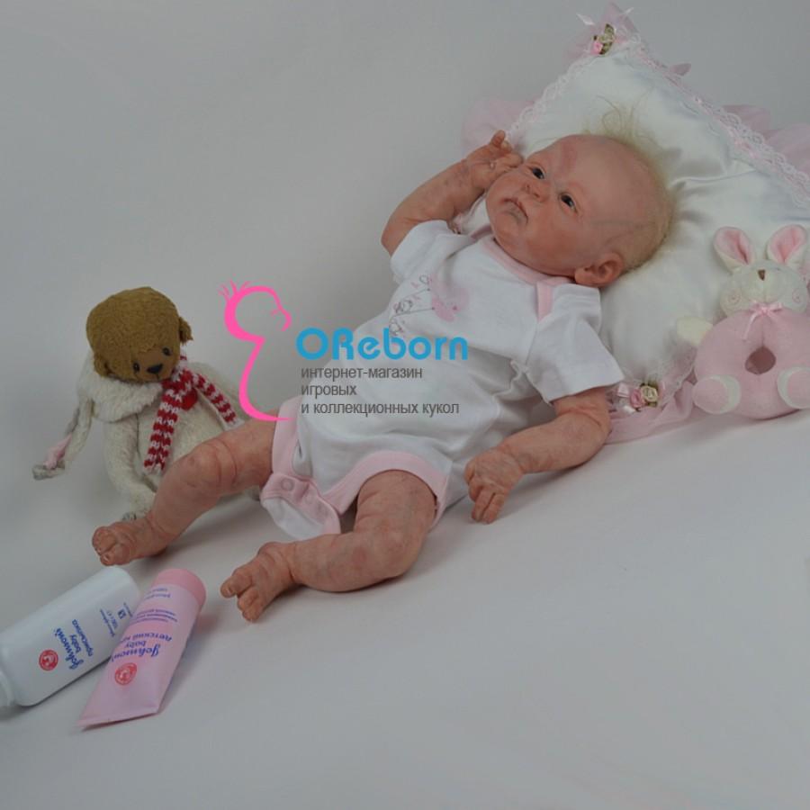 Авторская кукла реборн девочка новорождённый